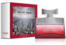 YACHT MAN® SPLASH™ Eau de Toilette for Men 100 ml Spray Made in Switzerland NEU