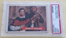 1957 Topps Robin Hood Trading Card #30 Robin's Disguise PSA 9 MINT (OC)
