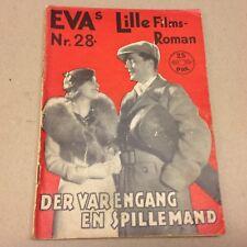 "Es war einmal ein Musikus De Kowa 1933 Danish Movie Novel ""EVA Lille Filmroman"""