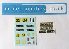 Dinky 691 Alvis Striker Reproduction Waterslide Transfers & Stickers Set