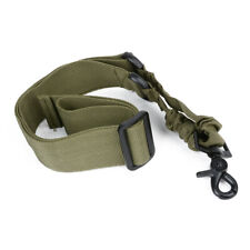 Tactical 1 Single Point Bungee Rifle Gun Sling Strap with Quick Release Buckle
