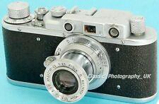 Zorki IB/1b - 35mm cámara telemétrica hecho en 1949 + Industar - 22 1:3 .5 F = 5cm