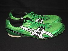ASICS Hyper MD-4 Track & Field Spikes Green Shoes Men's Size 13