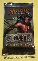 MTG Magic Zendikar Booster Pack from Box NEW English