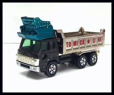 TOMICA #52 HINO DOLPHIN DUMP TRUCK 1/102 TOMY DIECAST CAR USED