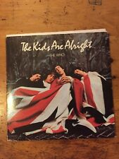 "THE WHO ""THE KIDS ARE ALRIGHT"" Double Album & booklet MCA2-11005 LP"