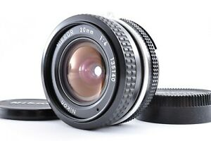 Nikon Ai Nikkor 20mm F4 MF Wide Angle Lens Excellent+++++ from Japan A0010