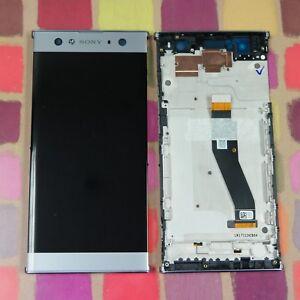 GENUINE SILVER SONY XPERIA XA2 ULTRA H4213 FHD IPS LCD SCREEN DISPLAY FRAME