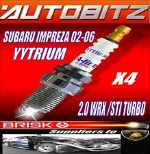 POUR SUBARU IMPREZA 2.0 TURBO WRX STI 2002-2006 VIVE BOUGIE X4 ENVOI RAPIDE