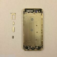 Gold Complete Housing Back Battery Door Cover & Mid Frame Assembly for iPhone 5