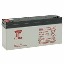 CLU10 & CLU11 CLULITE TORCH BATTERY YUASA NP2.8-6, 6V 2.8AH AS 3.2AH & 3AH