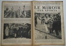 Le Miroir des Sports n°92- 1922 - Aviation Hockey Aviron Rugby Cricket