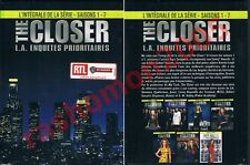 DVD THE CLOSER COMPLETE TV SERIES BOX SEASON 1-7 ALL 109 EPISODES Region 2 NEW