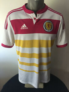 SCOTLAND Soccer Jersey 2014/15 AWAY Football Shirt Camiseta Maillot Trikot YOUTH