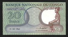 Congo Democratic Republic 20 Francs 1962 , AU , P-4b