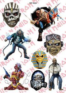 Iron Maiden Stickers Pack Heavy Metal Music Band Eddie