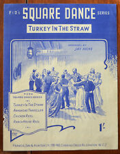 Turkey In The Straw, Square Dance arranged by Jay Hicks – Pub.1951