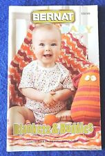 Bernat Knit & Crochet Baby Sport Blankets & Buddies Toys & Learning Instructions