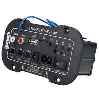 neu Bluetooth HiFi Bass Power AMP Stereo Digitalverstärker USB TF Fernbedienung