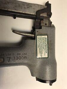 """USED   SENCO MODEL L BRAD NAILER LSII  1/2"""" TO 1""""      13mm-25mm    18GA"""