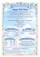Personalised Birthday A4 Scroll 100th 90th 80th 75th 70th 65th 60th 50th 40 30th