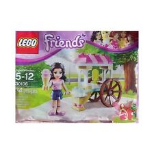 LEGO Friends Ice Cream Stand Polybag with Emma Figure (30106) -  New In Bag