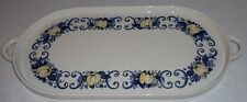 Villeroy & and Boch CADIZ two handled china tray - retro / vintage