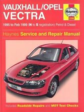 Haynes Service and Repair Manual Vauxhall / Opel Vectra 1995 to Feb 1999 SEALED