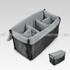 Insert Padded Camera Bag DSLR Inner Folding Divider Partition Protect Case Black
