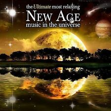 THE ULTIMATE MOST RELAXING NEW AGE MUSIC IN THE UNIVERSE CD   BRAND NEW SEALED