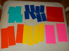 Fraction equivalency squares tiles
