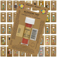 Sugarflair BLOSSOM TINT Edible Dust Powder Sugarcraft Food Cake ALL Colours 7ml