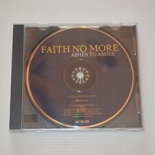 FAITH NO MORE - ASHES TO ASHES  - 1997 US CD SINGLE PROMO COPY