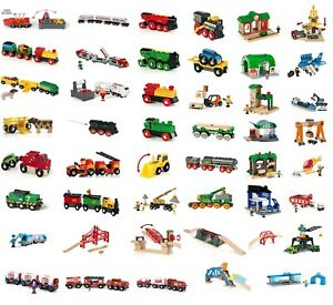 BRIO Railway Trains Set - Full collection of Brio Battery Trains & Accessories