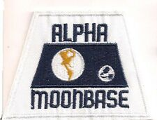 "Space:1999  Alpha Moonbase  4"" Uniform Patch- Model Kit Version  (SPPA-1915-B)"