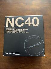 MAC Studio Fix Powder Plus Foundation  - NC40