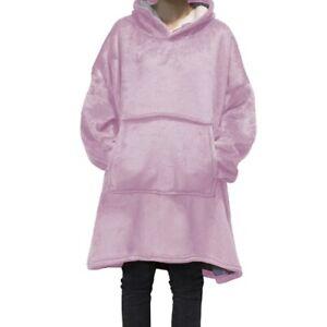 LARGE LUXURY FAUX FUR THROW BLANKETS Sweatshirts Soft Warm Winter Hoodie Coats