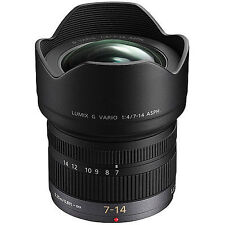 Panasonic Lumix G Vario 7-14mm f/4.0 ASPH. Lens for Micro Four Thirds (NEW)