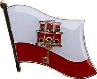 Gibraltar Country Flag Bike Motorcycle Hat Cap lapel Pin