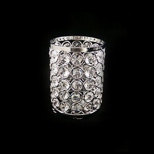 "4.5""x3.5"" tall BLING Crystal Chandelier Lamp Shade"