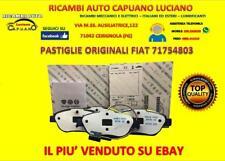 PASTIGLIE ORIGINALI FIAT BRAVO IDEA MULTIPLA STILO LANCIA DELTA MUSA 1.4 1.6 1.9