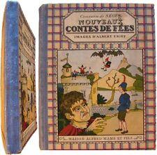Nouveaux contes de fées 1934 comtesse Sophie Ségur images Albert Uriet Mame