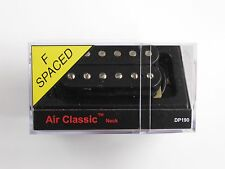 DiMarzio F-spaced Air Classic Neck Humbucker Black W/Chrome Poles DP 190