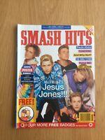 SMASH HITS April 90 Madonna, Janet, Paula Abdul, Bowie, Stone Roses VGC