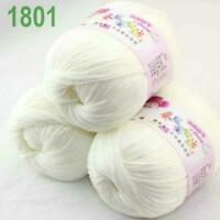 Sale 3 Balls x 50g Cashmere Silk Wool Children Hand Knit Shawls Crochet Yarn 01