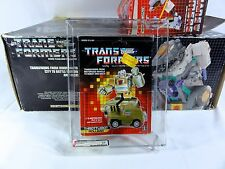 1987 Transformers AFA Series 4 Throttlebot Rollbar Sealed MISB MIB BOX