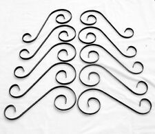 10   Off Wrought Iron Scrolls Weldable Mild Steel Gates Railings