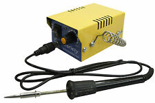 Variety Micro Soldering Iron Station Adjustable Temperature Complete Kit