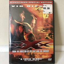 xXx (2002) Vin Diesel, Asia Argento Widescreen Special Edition Dvd New! Now $4!