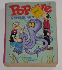Whitman 1969 A Big Little Book Popeye Danger, Ahoy! Paperback Book